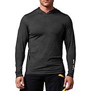 Mens Reebok CrossFit Performance Hoody Long Sleeve No Zip Technical Tops