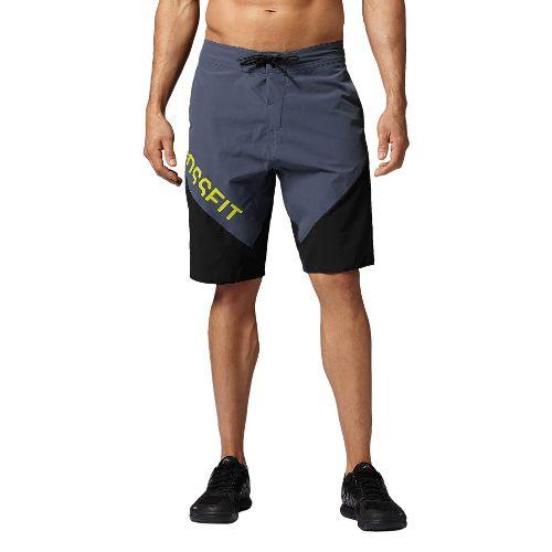 Mens Reebok CrossFit Cordura Training Shorts - Graphite/Black 36