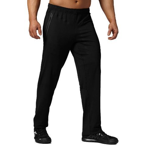 Mens Reebok CrossFit Track Warm-Up Pants - Black XL