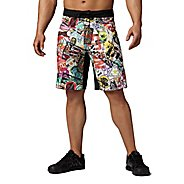 Mens Reebok CrossFit Bonded Gusset Print Unlined Shorts