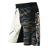Mens Reebok CrossFit Mixup Print Core Board Unlined Shorts