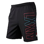 Mens Reebok CrossFit Graphic Knit Unlined Shorts