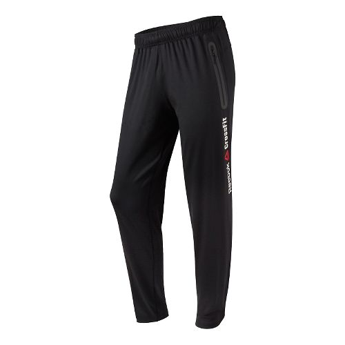 Mens Reebok CrossFit Speedwick Full Length Pants - Black Smooth XXL