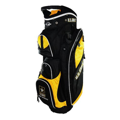 Ray Cook Golf Army Cart Bags - Black/Yellow