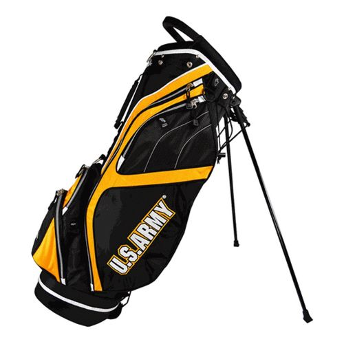 Ray Cook Golf Army Stand Bags - Black/Yellow