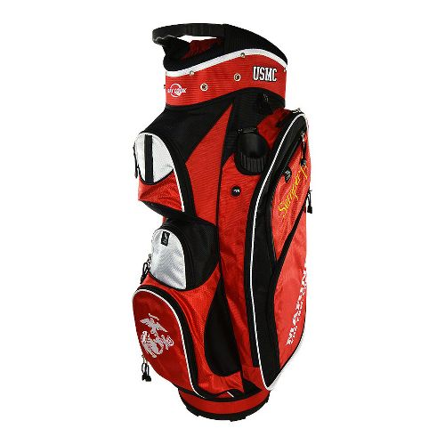 Ray Cook Golf Marines Cart Bags - Red/Black