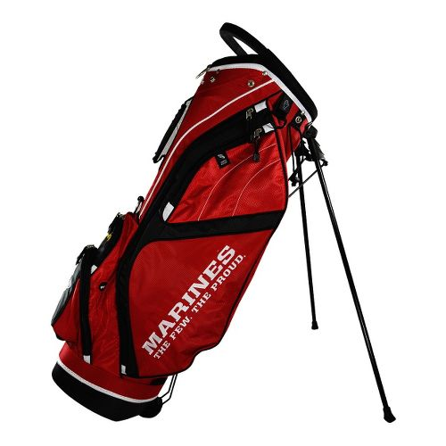 Ray Cook Golf Marines Stand Bags - Red/Black