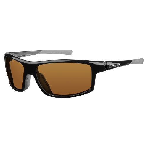 Mens Ryders Strike Sunglasses - Black/Brown