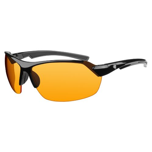Mens Ryders Binder Sunglasses - Burnished Black/Orange