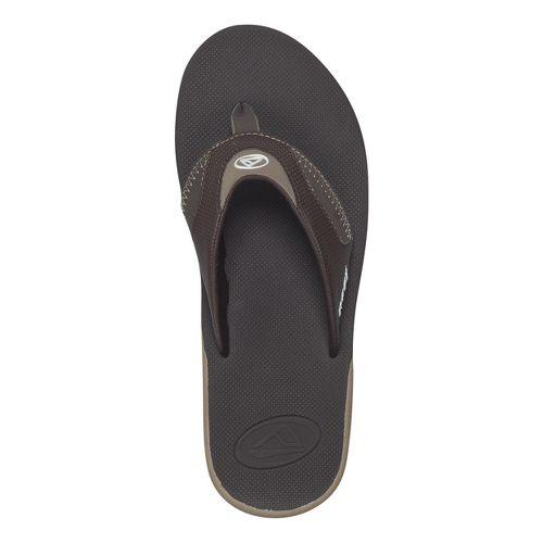 Mens Reef Fanning Sandals Shoe - Dusk/Brown 9