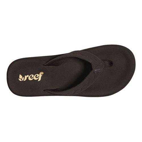 Womens Reef Seaside Sandals Shoe - Brown 9