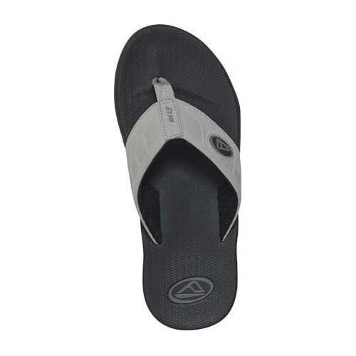 Mens Reef Phantoms Sandals Shoe - Black/Charcoal 14