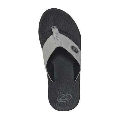 Mens Reef Phantoms Sandals Shoe - Black/Charcoal 14