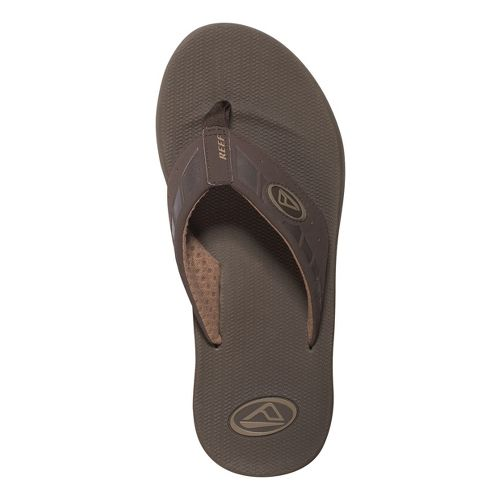 Mens Reef Phantoms Sandals Shoe - Brown 8