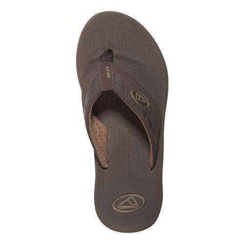 Mens Reef Phantoms Sandals Shoe - Brown 9