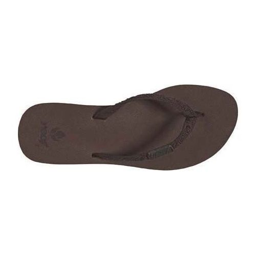 Womens Reef Ginger Sandals Shoe - Brown 7