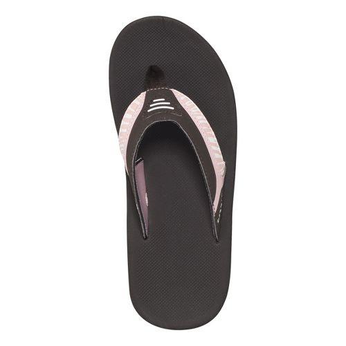 Womens Reef Slap 2 Sandals Shoe - Brown/Pink 9