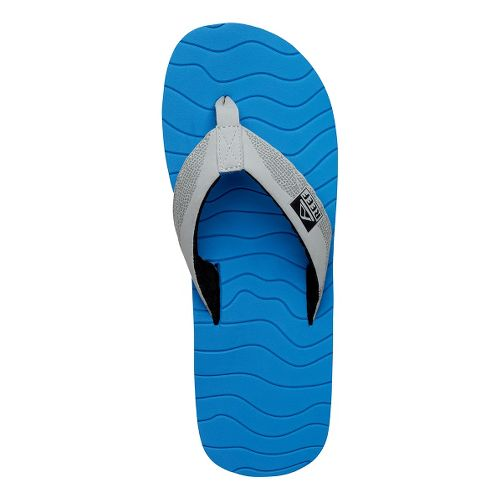 Mens Reef Roundhouse Sandals Shoe - Blue/Grey 8