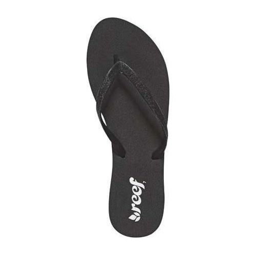 Womens Reef Stargazer Sandals Shoe - Black/Black 5
