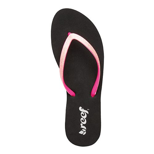 Womens Reef Stargazer Sandals Shoe - Neon Pink 6