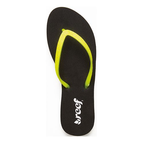Womens Reef Stargazer Sandals Shoe - Neon Yellow 5