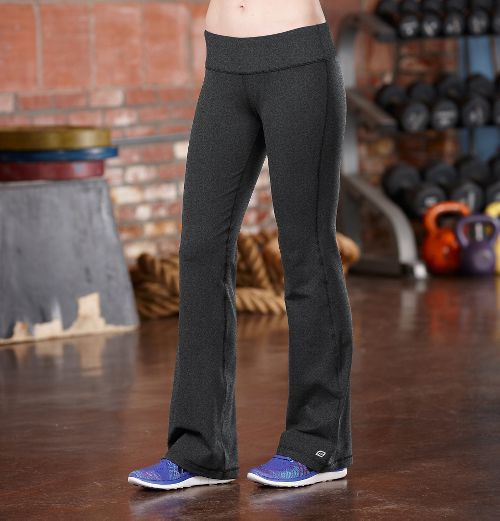 Womens R-Gear Run, Walk, Play Full Length Pants - Heather Charcoal XS