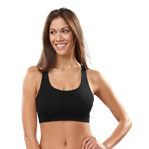 Womens R-Gear Rock Steady T-Back Sports Bra - Black 36B