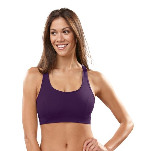 Womens R-Gear Rock Steady T-Back Sports Bra - Plum Pop 36B