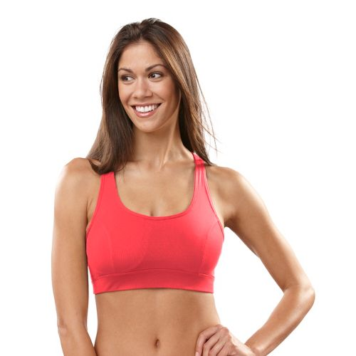 Womens R-Gear Rock Steady T-Back Sports Bra - Ruby/Pink 36C