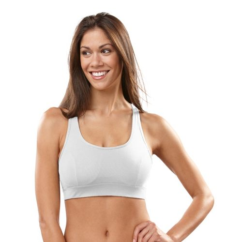 Womens R-Gear Rock Steady T-Back Sports Bra - White 36B