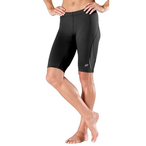 Womens R-Gear High-Speed Compression Knee Fitted Shorts - Black L