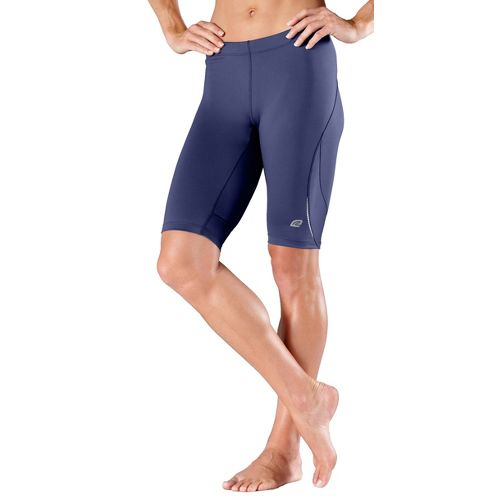 Womens R-Gear High-Speed Compression Knee Fitted Shorts - Midnight Blue L