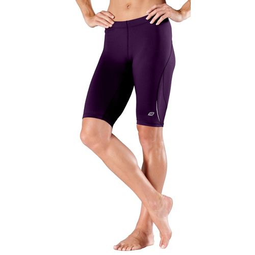 Womens R-Gear High-Speed Compression Knee Fitted Shorts - Plum Pop L