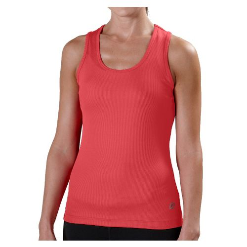 Womens R-Gear Everyday Favorite Scoop Tank Technical Tops - Coralicious XS