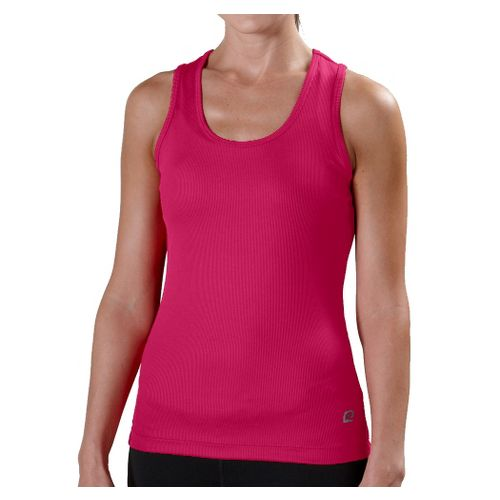 Womens R-Gear Everyday Favorite Scoop Tank Technical Tops - Haute Pink XL