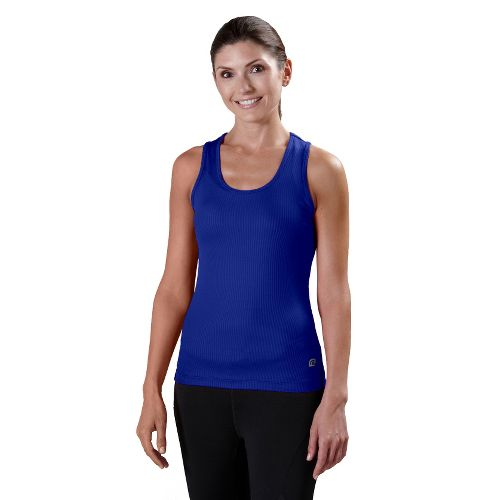 Womens R-Gear Everyday Favorite Scoop Tank Technical Tops - Pacific Blue XS