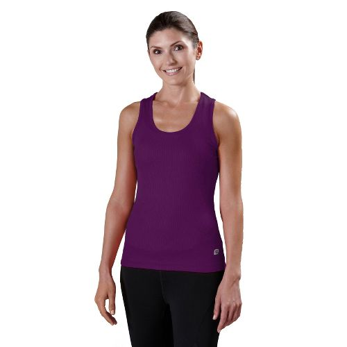 Womens R-Gear Everyday Favorite Scoop Tank Technical Tops - Plum Crazy M