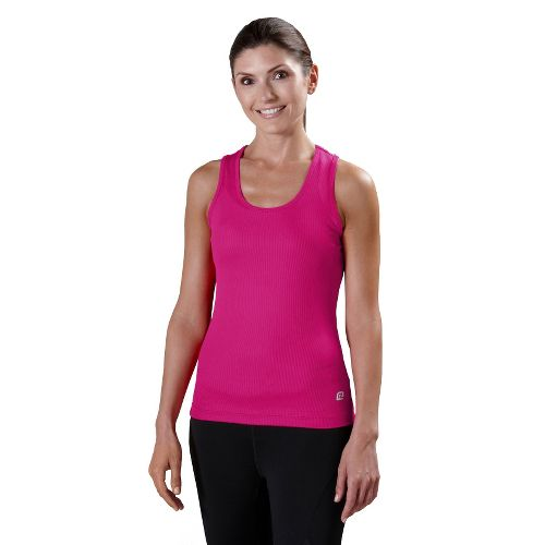 Womens R-Gear Everyday Favorite Scoop Tank Technical Tops - Pink Berry S