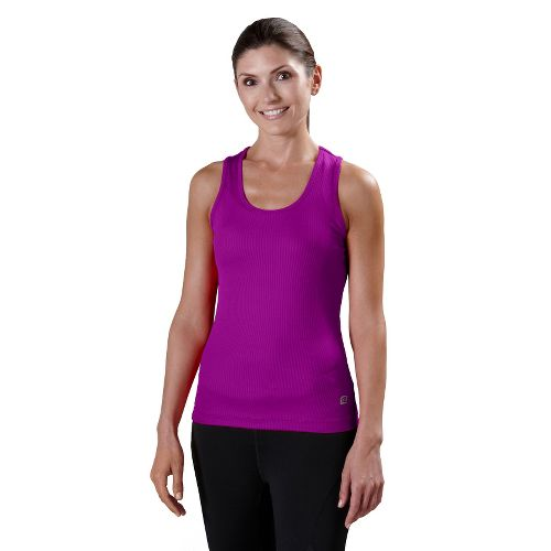 Womens R-Gear Everyday Favorite Scoop Tank Technical Tops - Purple Shock M
