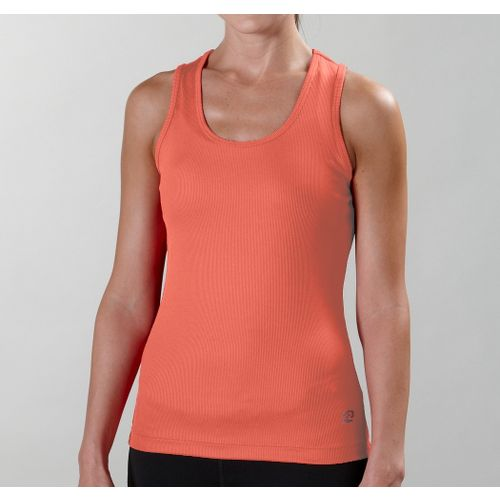 Womens R-Gear Everyday Favorite Scoop Tank Technical Tops - Papaya XL