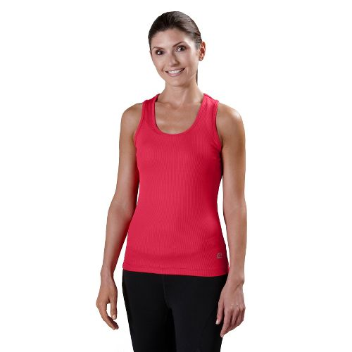 Womens R-Gear Everyday Favorite Scoop Tank Technical Tops - Watermelon L
