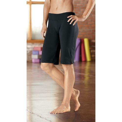 Womens R-Gear Run, Walk, Play Knee Unlined Shorts - Black L