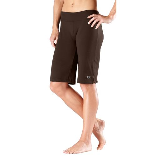 Womens R-Gear Run, Walk, Play Knee Unlined Shorts - Espresso S