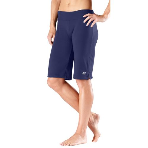 Womens R-Gear Run, Walk, Play Knee Unlined Shorts - Midnight Blue L