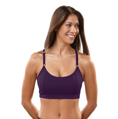 Womens R-Gear Crazy Beautiful Cami Sports Bra - Plum Pop 34B