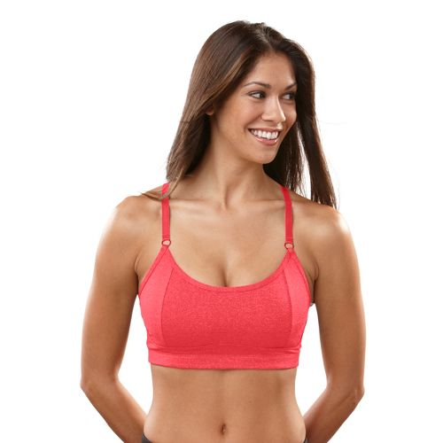 Womens R-Gear Crazy Beautiful Cami Sports Bra - Ruby/Pink 32A