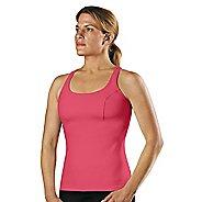 Womens Road Runner Sports Rock Steady T-Back Long Sport Top Bras