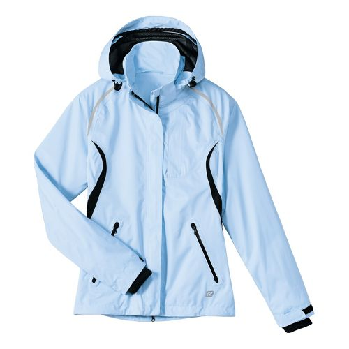 Womens R-Gear Best Defense GORE-TEX Outerwear Jackets - Ice Blue/Black XS