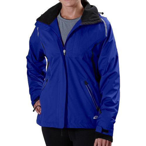 Womens R-Gear Best Defense GORE-TEX Outerwear Jackets - Pacific Blue/Black XL