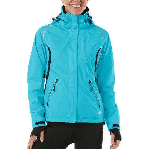 Womens R-Gear Best Defense GORE-TEX Outerwear Jackets - Sea Glass Blue/Black L